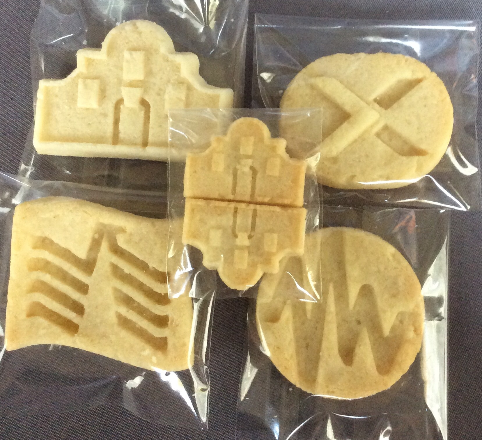 3D Designed Shortbread.
